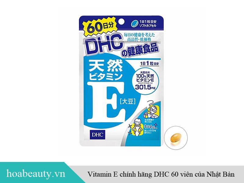 Vitamin E DHC 60 viên hàng chính hãng Nhật Bản