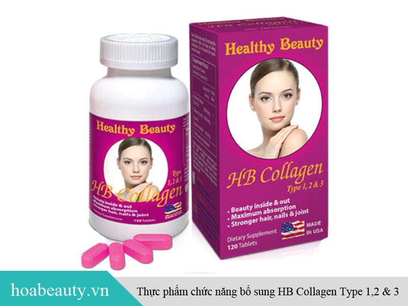 Thực phẩm chức năng bổ sung HB Collagen Type 1,2 & 3