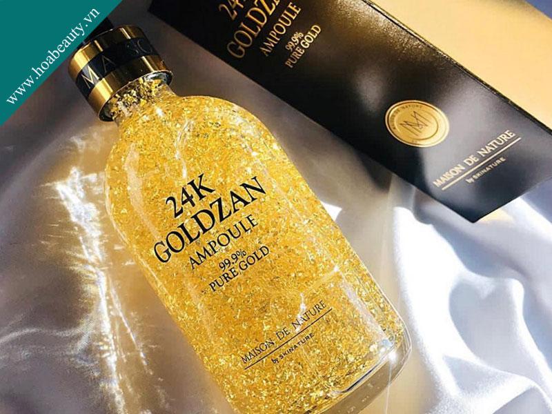 Tinh chất vàng 24K Goldzan Ampoule 99.9% Pure Gold