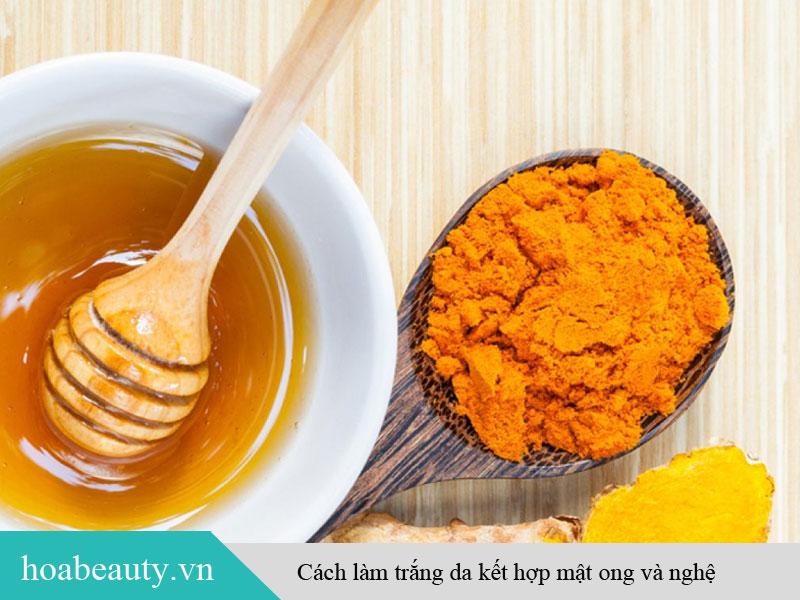 Mật ong và nghệ - Nguyên liệu làm trắng da từ thiên nhiên an toàn, hiệu quả