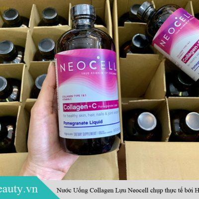 Hình ảnh Nước uống NeoCell Collagen + C Pomegranate Liquid của Mỹ chụp thực tế bởi Hoa Beauty