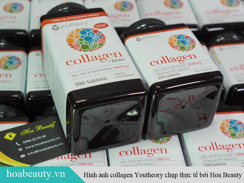 Viên uống hỗ trợ xương khớp Collagen Youtheory Advanced Formula