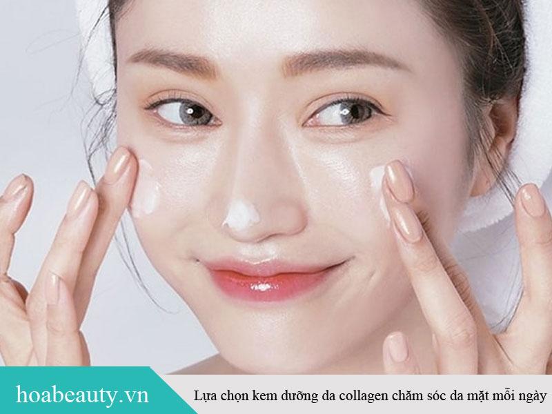 Sữa rửa mặt collagen chăm sóc da mặt mỗi ngày