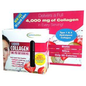 Liquid Collagen dạng nước Easy to take Drink Mix hộp 30 ống của Mỹ