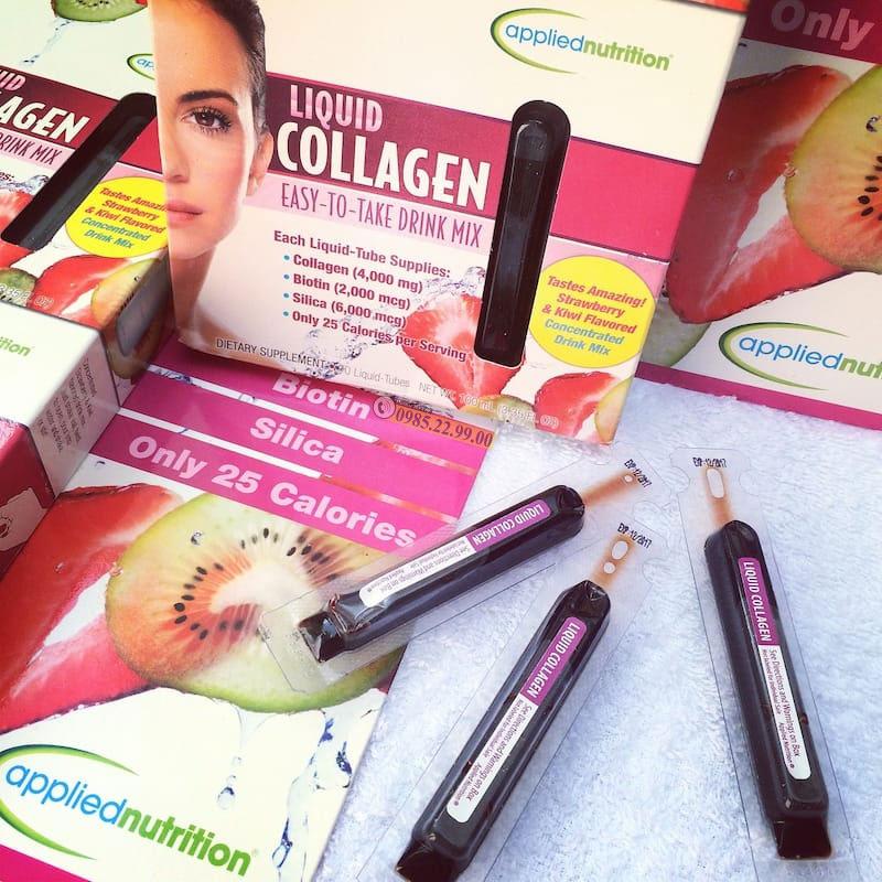 Liquid collagen sản phẩm nước uống collagen được nhiều người lựa chọn sử dụng