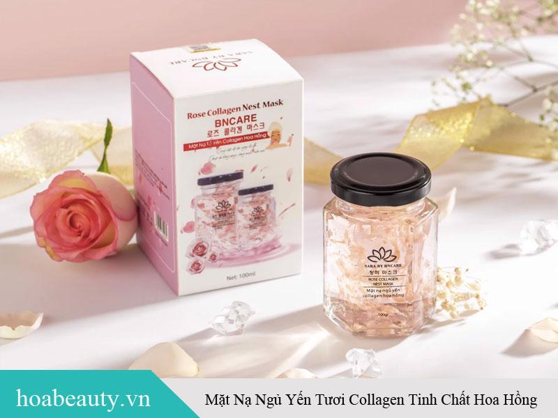 Mặt nạ Collagen hoa hồng - Sản phẩm dưỡng da HOT nhất hiện nay