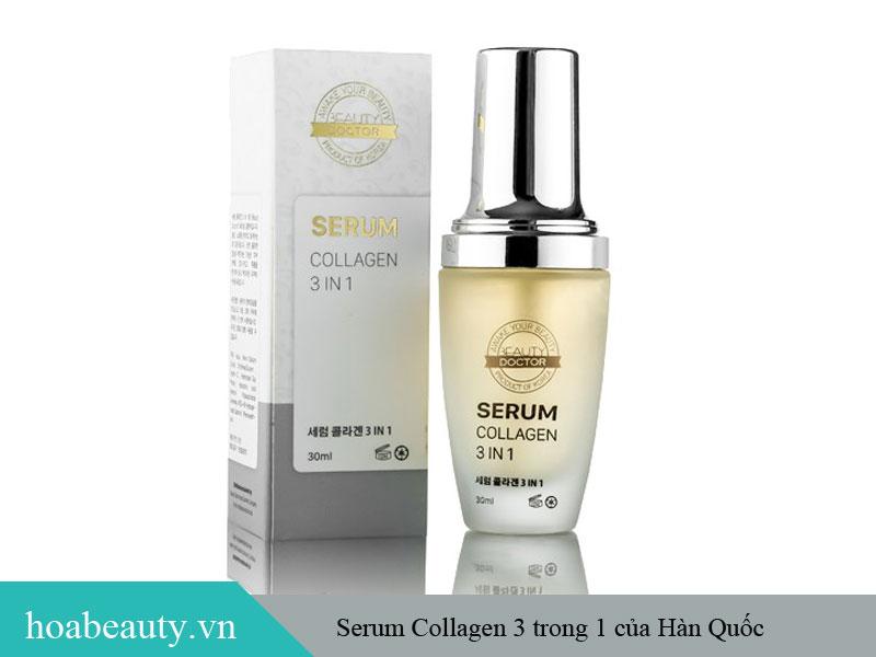 Serum Collagen 3 trong 1 - Sản phẩm dưỡng da xuất xứ từ Hàn Quốc