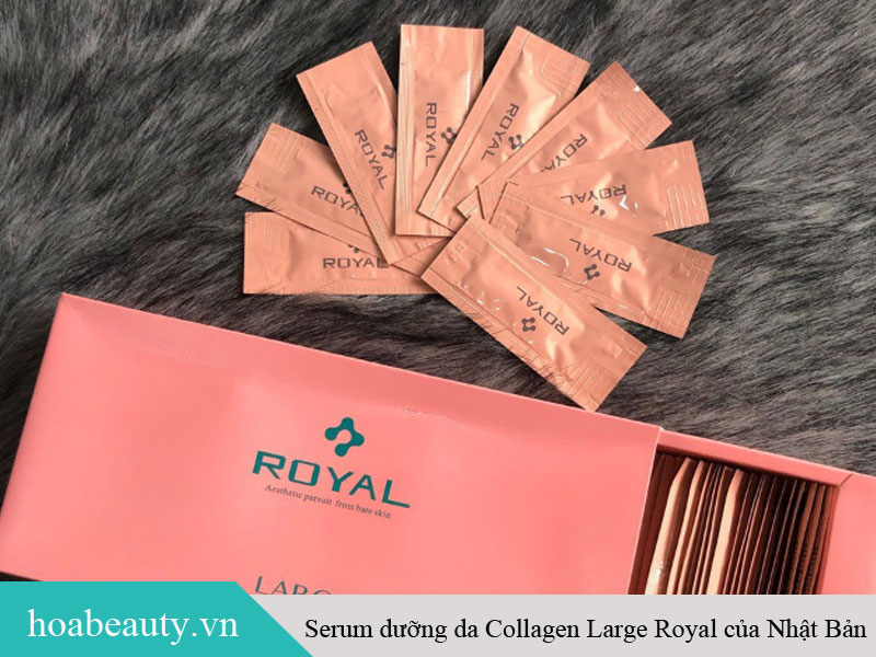 Serum dưỡng da Collagen Large Royal