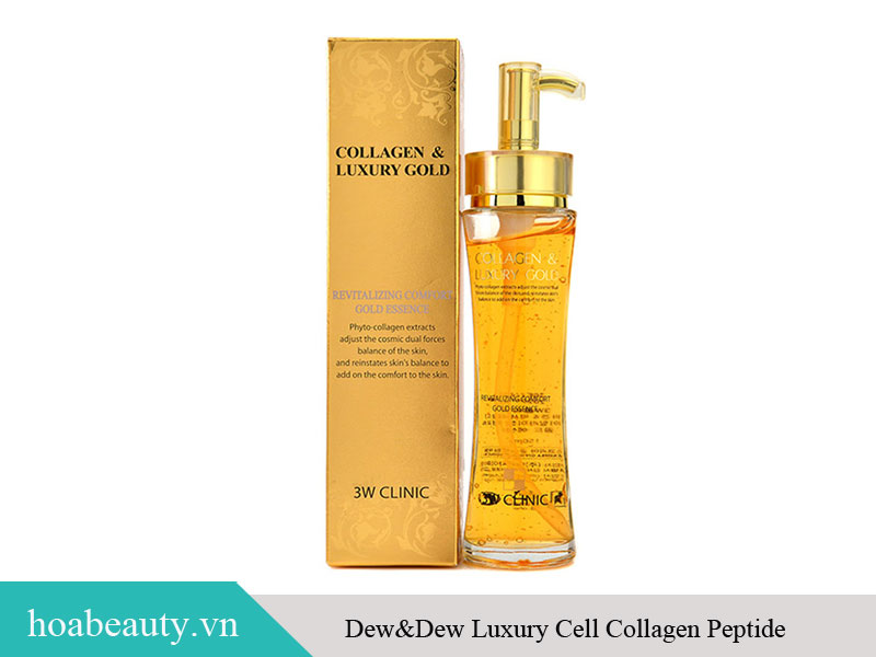 Tinh chất Collagen & Luxury Gold 3W Clinic