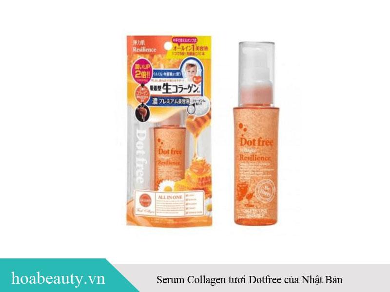 Serum collagen tươi Dotfree của Nhật Bản