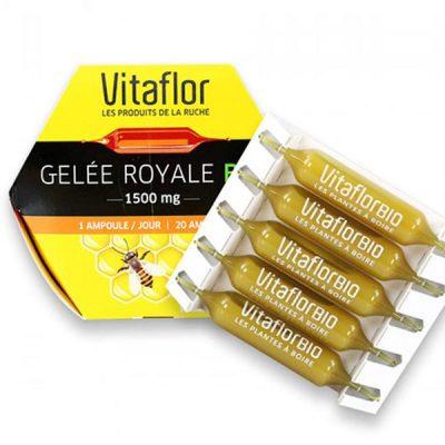 Sữa ong chúa Vitaflor Gelee Royale Bio 1500mg của Pháp