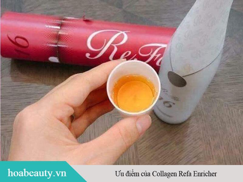 Ưu điểm của Collagen Refa Enricher