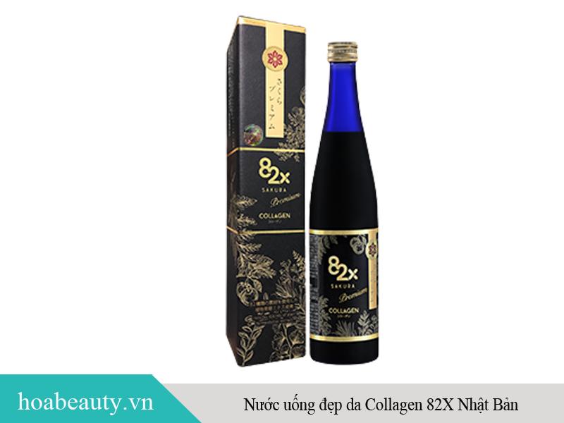 Nước uống đẹp da Collagen 82X Nhật Bản