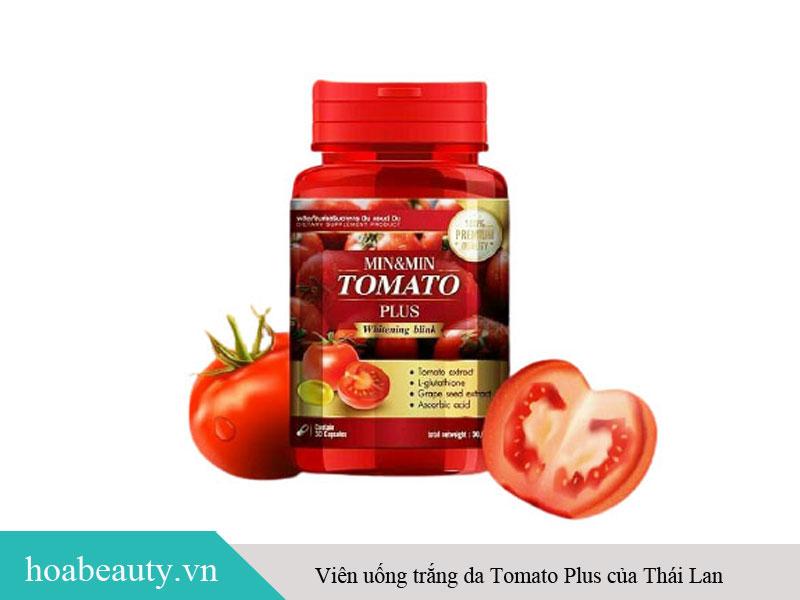 Viên uống trắng da Tomato Plus của Thái Lan